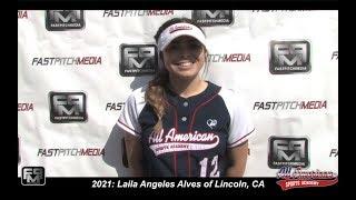 2021 Jordan West Shortstop and Third Base Softball Skills Video
