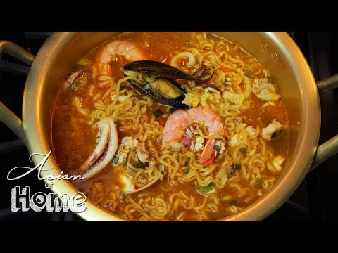 Asian at Home | Korean Seafood Ramen