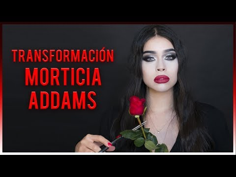 DISFRAZ DE MORTICIA ADDAMS/ HALLOWEEN 2018 / @ALEXIABEGA