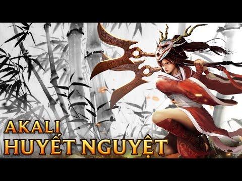 Akali Huyết Nguyết - Blood Moon Akali