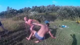 Драка! Пьяная ДРАКА на пикнике