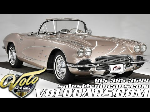 1961 Chevrolet Corvette (CC-1410097) for sale in Volo, Illinois