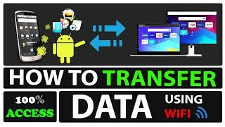 How to transfer file from android to windows using Xender