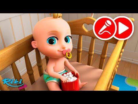 Джони Джони   Johny Johny Yes Papa   Детская песенка + Караоке на русском