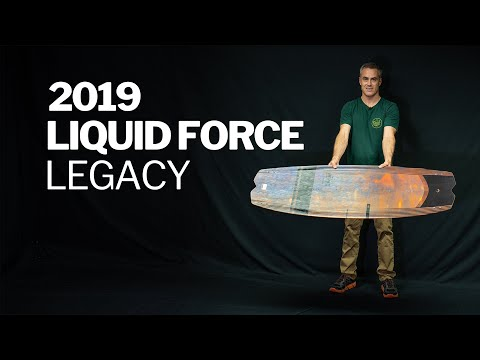 2019 Liquid Force Legacy kiteboard Review