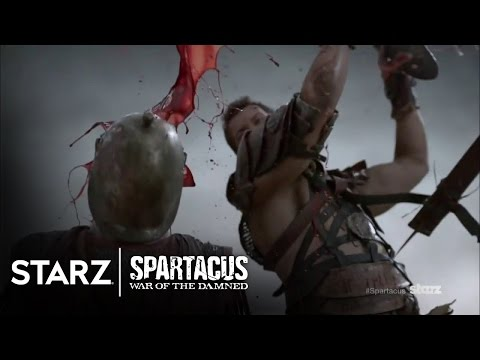 Spartacus: War of the Damned | The Making of Spartacus - Stunts | STARZ