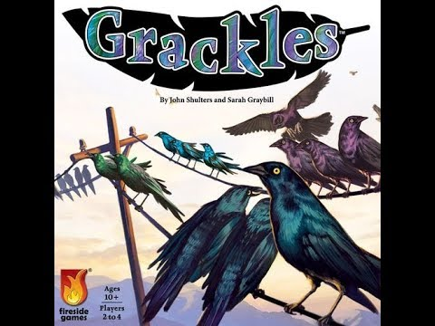 Bower's Game Corner: Grackles Review