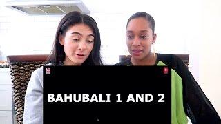 BAHUBALI 1 AND 2 | TRAILER REACTION FEAT. NADINE  | TRAVEL VLOG IV