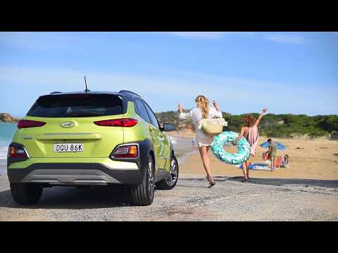 Hyundai  Kona Кроссовер класса J - рекламное видео 2