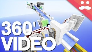 The Redstone Rapids in Minecraft [4K 360' Video]