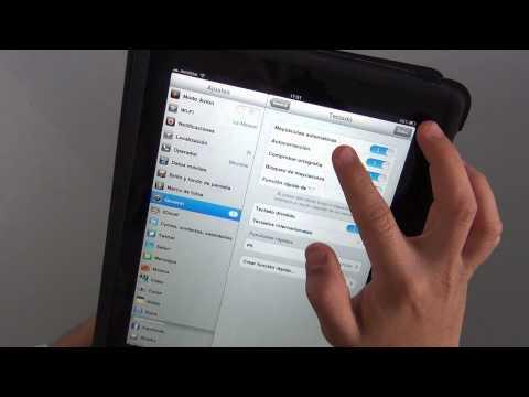 Cómo ajustar el teclado del iPad