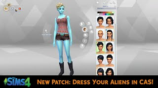 The Sims 4: Dress Your Aliens, Influence Gender & More!
