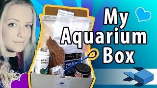 Unboxing MyAquariumBox | FISHKEEPING SUPPLIES | Freshwater Fish Monthly Subscription Box REVIEW