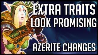 Azerite Armor Finally Fixed? Mythic Jaina Mount & New Spell Animation   WoW BfA News