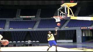 The Daily Reveille: LSU Men's Basketball Walk-on Tryouts