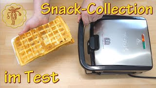 Waffeleisen Snack Collection im Test - funktioniert das?