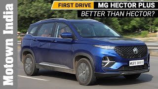 2020 MG Hector Plus | Review | First drive | Is it really a PLUS?