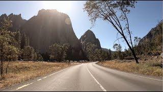 Yosemite National Park Drive | 4K