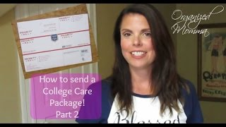 How To Pack A College Care Package-for A Guy!