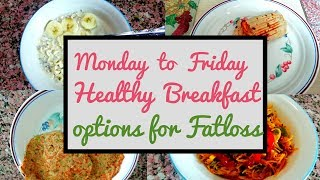 WHAT I ATE FOR BREAKFAST THIS WEEK | SIMRTLIFTS | HEALTHY BREAKFAST OPTIONS