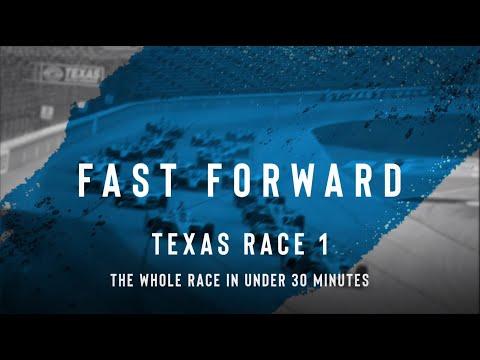 インディーカー第4戦 テキサス・モータースピードウェイの決勝レースを30分にまとめたハイライト動画