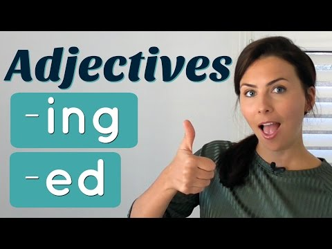 Common Mistakes with English ADJECTIVES