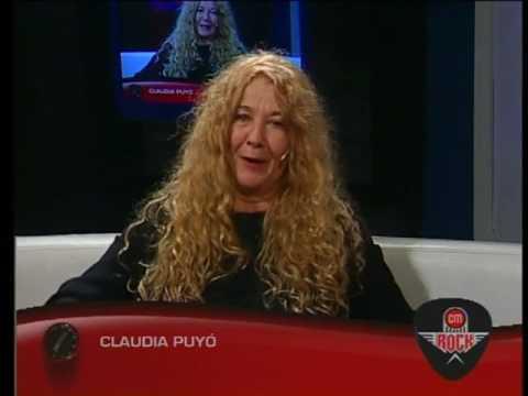 Claudia Puyó video Entrevista CM - CM Rock 2016