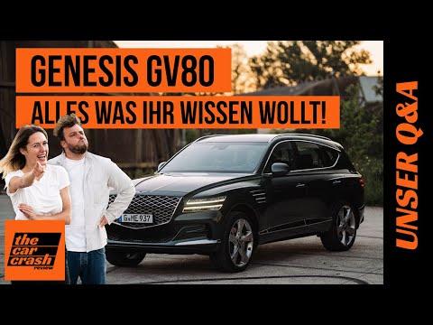 Genesis GV80 (2021): Alles was ihr wissen wollt! 🤓 Test   Sound   Preis   Kofferraum   Diesel   Q&A