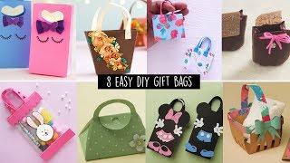 8 Easy Diy Gift Bags