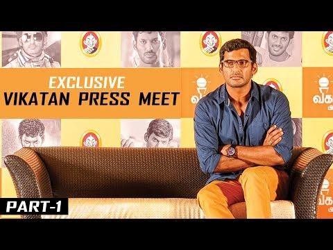 Why Ajith Is Always Unavailable? Life of 16 Girls Saved From Arya! | Vishal | Vikatan Press Meet