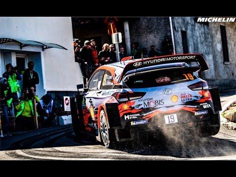 44a71aa8f31c Leg 1 - Top Moments - 2019 WRC Tour de Corse - Michelin Motorsport