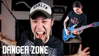 Danger Zone (metal cover by Leo Moracchioli feat. Erock)