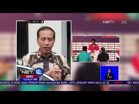 Presiden Jokowi Yakin Emas Masih Akan Didapatkan Banyak Cabang Olahraga - NET 12