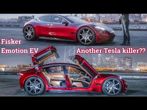NEW 2018 Fisker Emotion EV Luxury Electric Car Unveiled At CES 2018 : Specs , Price