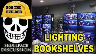 Lighting A Bookshelf For Your Collection With LED Strips (Ikea Billy)
