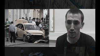 Moscow cabbie says he hit the wrong pedal when ploughing into crowd
