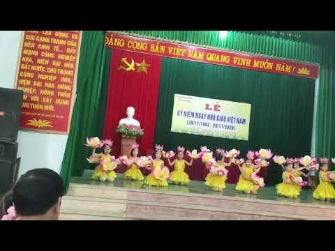 Các bé trường MN Xuân Phú biểu diễn văn nghệ chào mừng ngày nhà giáo Việt Nam 20/11/2020