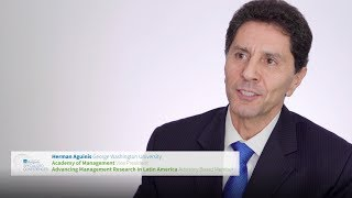 video - Mexico City 2020 AOM conference invitation from Prof. Herman Aguinis - English version