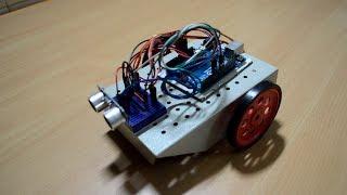 Ultrasonic Controlled Servo Car with Arduino