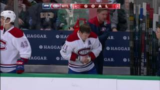Weber shot hurts Gallagher, Pacioretty follows with a goal