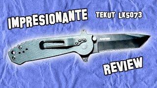 EL MEJOR CUCHILLO - Tekut LK5073   Best Pocket Knife