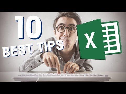10 Best Excel Tips for Beginners