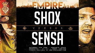 KOTD - Shox The Rebel vs Sensa | #EMP
