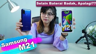 Cuma Menang Baterai Doang? Review Samsung Galaxy M21 Indonesia
