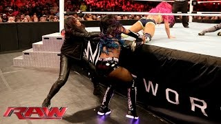 Becky Lynch Vs. Sasha Banks: Raw, February 1, 2016