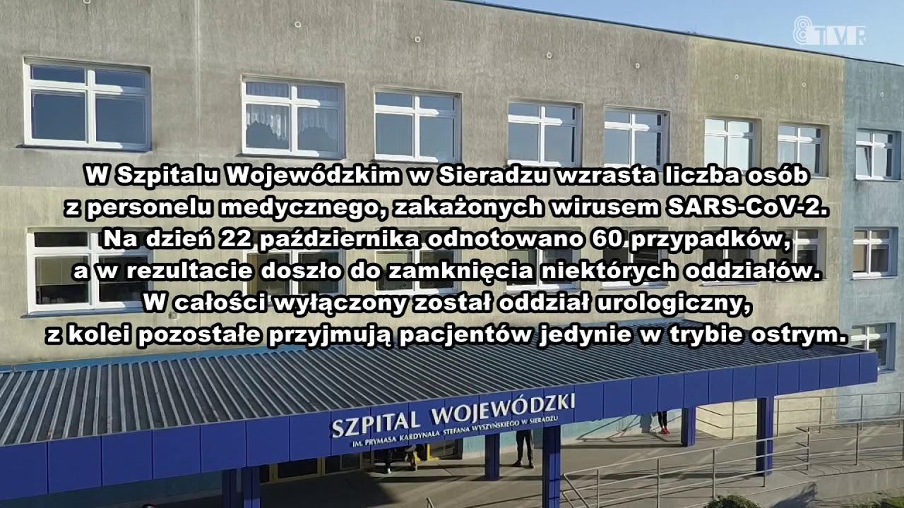 Informacja Szpitala Wojewódzkiego w Sieradzu z dnia 23.10.2020