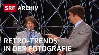 Kamera-Neuheiten (1983): 1. Selfie-Stick | Trends in der Fotografie | SRF Archiv