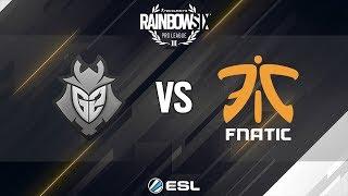 Rainbow Six Pro League Finals - Season 8 - Rio de Janeiro - G2 Esports vs Fnatic
