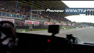 Caravanrace: Onboard In Scania T143!!