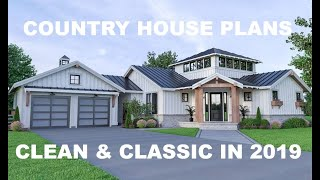 Exceptional New Country House Plans | Direct From The Designers